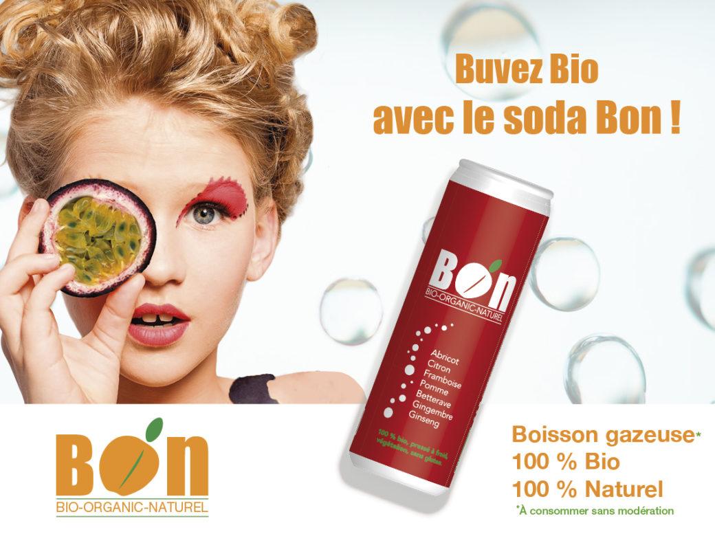 Affiche soda Bio passion