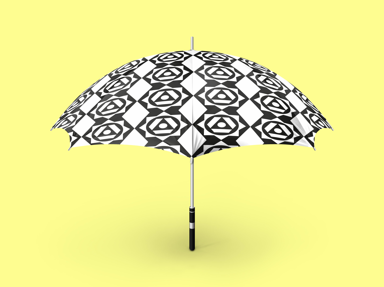 pattern-textile-parapluie-noir-blanc-graphiste-oise