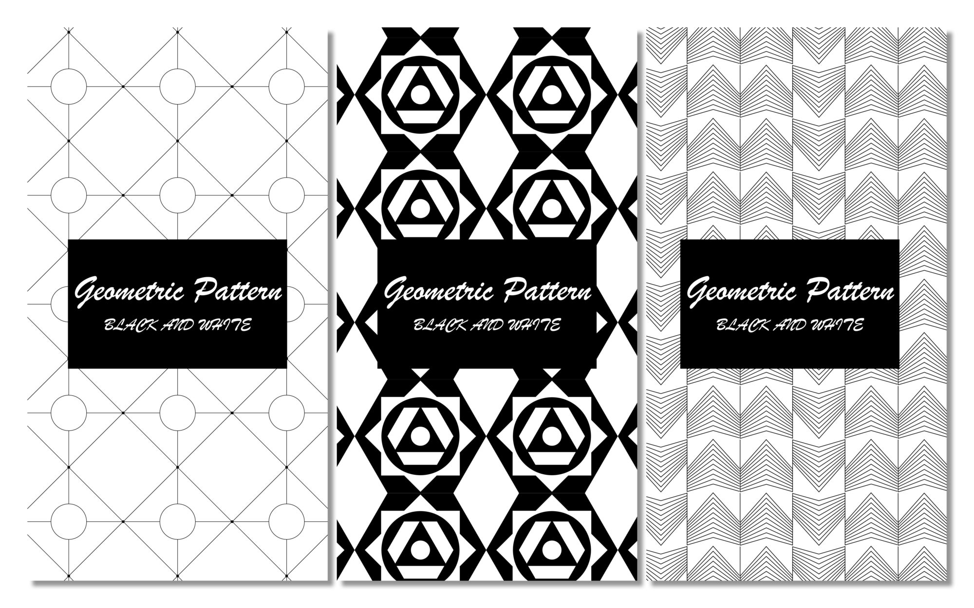 geometric-pattern-design-textile-decoration-noir-blanc