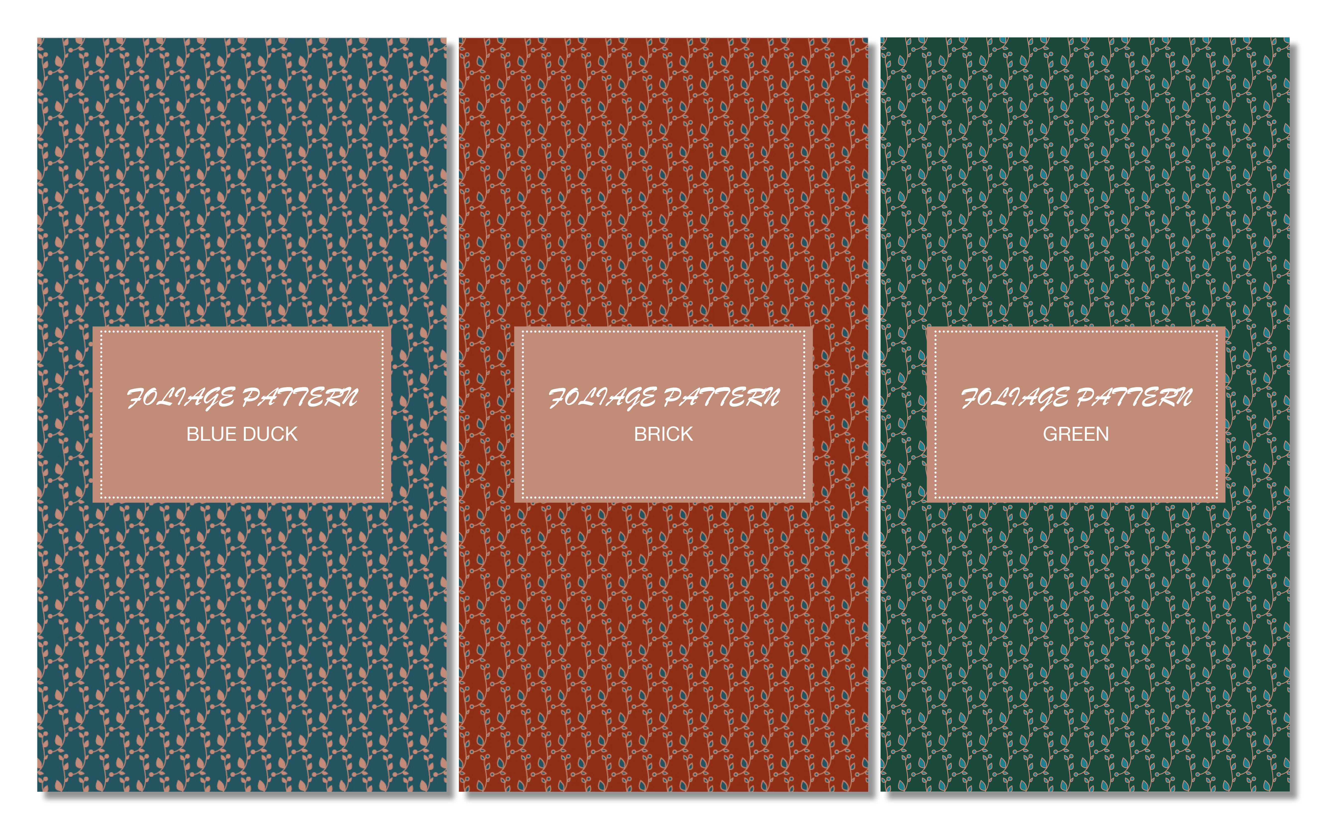 foliage-pattern-motif-papier-peint-tendance-design