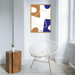 affiche-decorative-design-art geometric-shokoo-lafficheuse