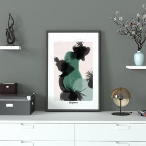 affiche-decorative-eclosion-shokoon-lafficheuse