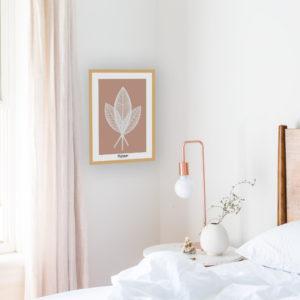 affiche-decorative-palm-bohemia-shokoon-lafficheuse