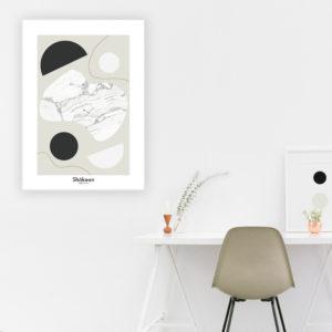 affiche-decorative-shokoon-lafficheuse-mineral