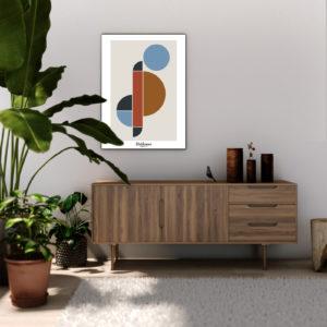 affiche-decorative-the-round-belly-style-bauhaus-shokoon-lafficheuse