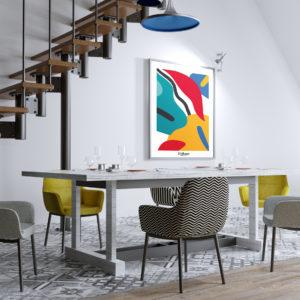 affiches-decoratives-life-color-shokoon-lafficheuse